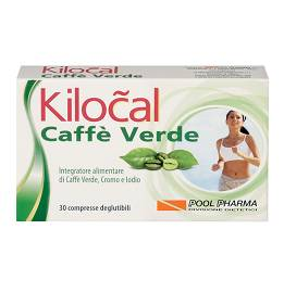 KILOCAL CAFFE' VERDE 30CPR pool pharma scad 03/20