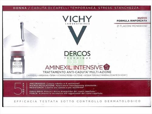 DERCOS AMINEXIL INTENSIVE 5 DONNA 21FLACONI